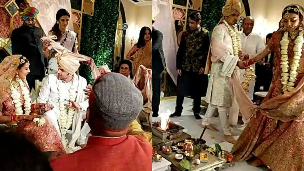 Kajal Aggarwal And Gautam Kitchlu Tie The Knot | Kajal Aggarwal Weds Gautam Kitchlu | Kajal Aggarwal And Gautam Kitchlu Enter The Wedlock