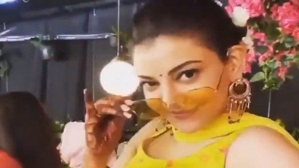 Kajal Aggarwal & Gautam Kitchlu Wedding: Actress' Unseen Dance Videos From Her Haldi Go Viral