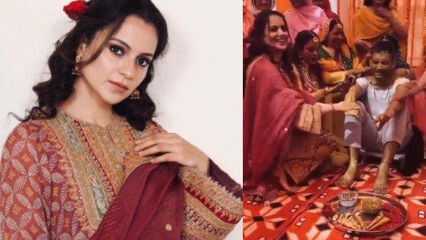 Kangana Gives A Sneak-Peek Into Her Brother's Haldi Ceremony
