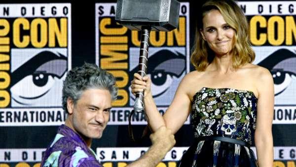 Natalie Portman On Thor: Love and Thunder