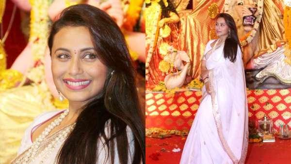 Rani Mukerji At A Durga Pooja In 2019