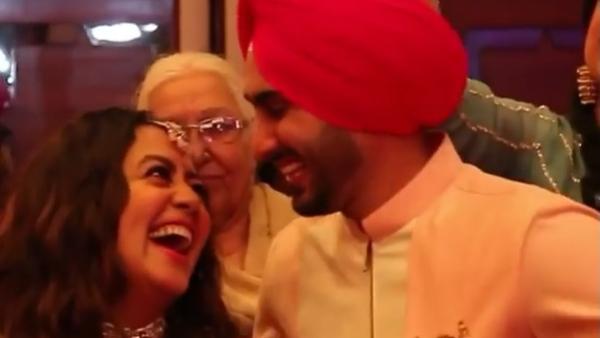 Neha & Rohanpreet At Their Roka Ceremony