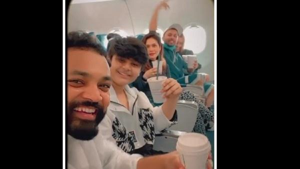 Neha Kakkar Flies To Delhi With Family For Wedding; Shares Pics Of Rohanpreets Romantic Proposal