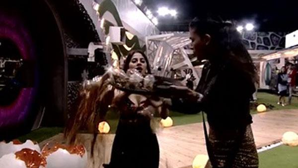 Pavitra & Jasmin Shout At Nikki