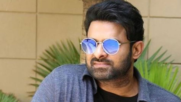 Prabhas To Work On Two Projects Simultaneously?