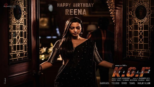 KGF Chapter 2: Srinidhi Shetty's First Look As Reena Out