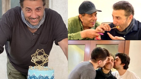 Sunny Deol's Birthday Party: Actor Celebrates In Deol Style With Dad Dharmendra And Family