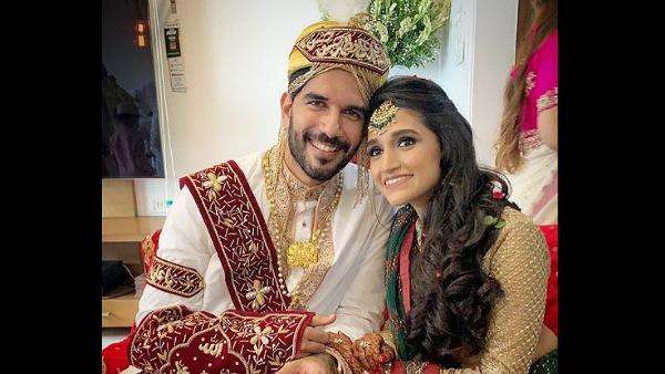Taher Shabbir Gets Married To Akshita Gandhi
