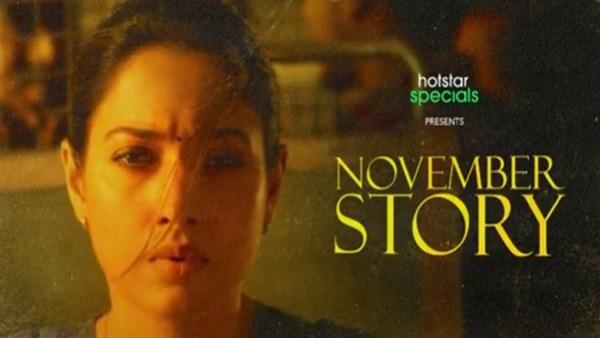 Tamannaah Bhatia On November Story