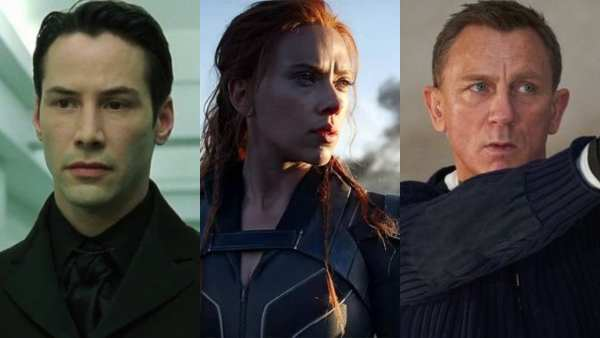 Biggest Hollywood Releases Postponed To 2021: No Time To Die, Black Widow, Matrix 4 & More