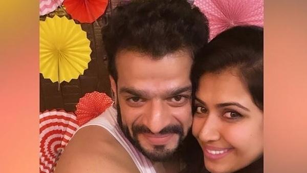 Karan Patel's Wife Ankita Bhargava Shares An Adorable Pic; Writes 'Happy Birthday Mehr Ke Papa'