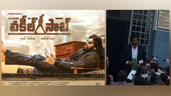 Pawan Kalyan Resumes Shooting For Vakeel Saab, Picture From The Sets Goes Viral!