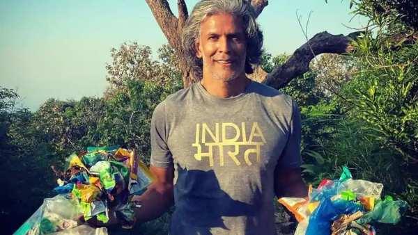 Milind Soman Picks Up Garbage During Trek; Says People Need To Be 'Smarter Than Monkeys'