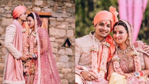 Priyanshu Painyuli-Vandana Joshi's Mountain Wedding Pictures Scream Love; Actor Takes His Bride Home On ATV