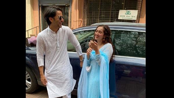 Shaheer Sheikh & Ruchikaa Kapoor Share Pics From Their Court Wedding; Ekta Calls Latter Begum Ruchikaa Kapoor Sheikh