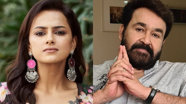 Shraddha Joins Aaraattu; This Is How Mohanlal Welcomed Her!