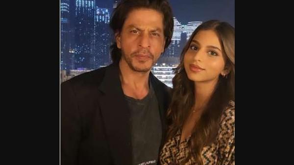 Suhana Khan Strikes A Pose With The Birthday Boy