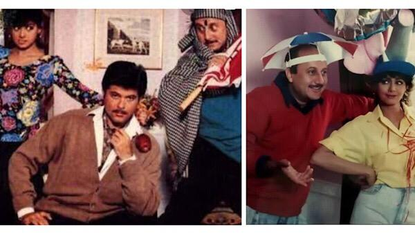 Anupam Kher, Anil Kapoor Celebrate 29 Years Of Lamhe, Share BTS Pictures And Trivia