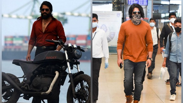 KGF Chapter 2: Yash And Team Arrive In Hyderabad For The Final Shoot Schedule