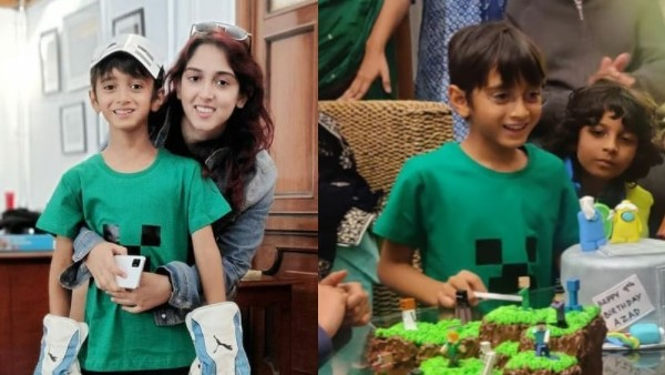 Aamir Khan's Daughter Ira Shares Photos From Her 'Coolest Baby Brother' Azad's Ninth Birthday Bash