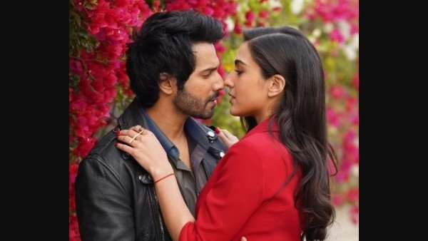 Varun Dhawan And Sara Ali Khan Met For The First Time In A Lift