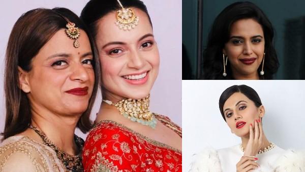 Rangoli Chandel Blasts Taapsee Pannu And Swara Bhasker