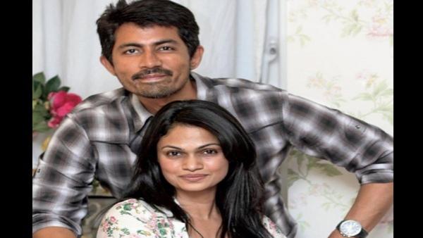 Karthik Kumar and Suchitra