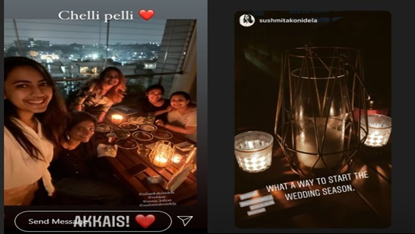 Niharika Konidela Chills With Girl Gang Ahead Of Her Destination Wedding In Udaipur; See Pics