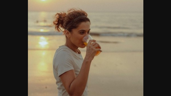 Earlier, Taapsee Shared A Recipe For An Exotic Fat-Burning Drink Which Has Helped Her For Her Training