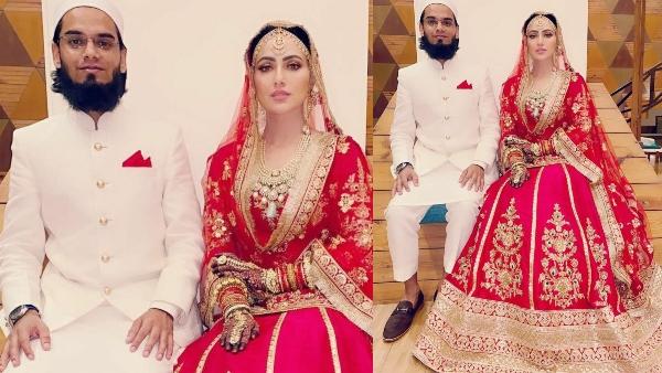 Sana Khan Weds Mufti Anas Syed: Ankita Lokhande, Yuvika Chaudhary And Others Wish The Couple