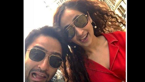 Shaheer Sheikh Has Perfect Reply For Gossip Mongers; Shares Pic With Rumoured GF Ruchikaa Kapoor