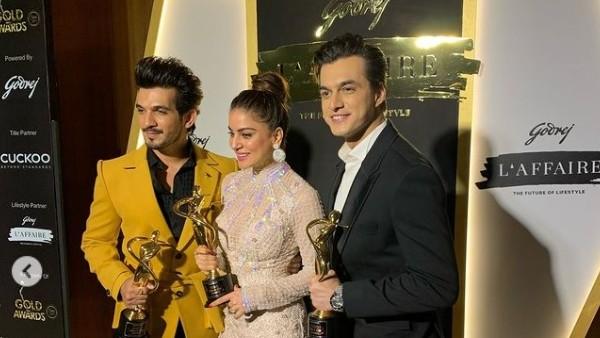 Shraddha Arya, Arjun Bijlani & Mohsin Khan