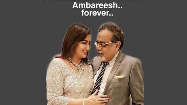 Sumalatha Pens Emotional Note On Ambareesh's 2nd Death Anniversary: It's You Who Lives Through Me