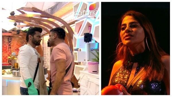 Bigg Boss 14: Rahul Locks Horns With Nikki And Eijaz