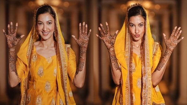 Wedding of Gauahar Khan and Zaid Darbar: The future bride shares her beautiful Mehendi pictures