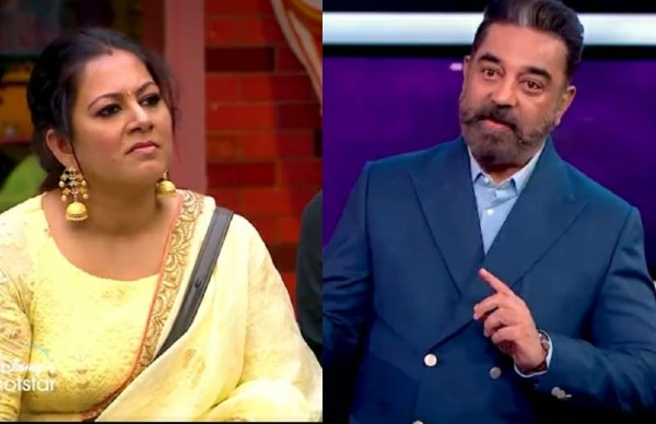 Bigg Boss Tamil 4: Kamal Haasan Questions Archana For Deliberately Removing Her Microphon