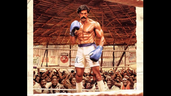 Sarpatta Parambarai: Arya Looks Intense As A Boxer In The First Look Poster Of His 30th Film