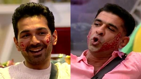 Eijaz Khan And Abhinav Shukla's Argument
