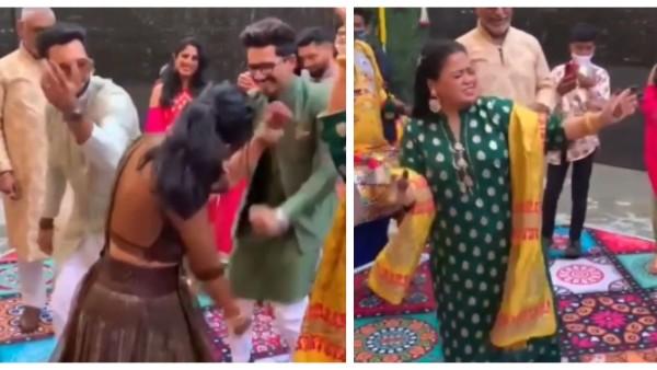 Bharti Singh And Haarsh Limbachiyaa Hit The Dance Floor