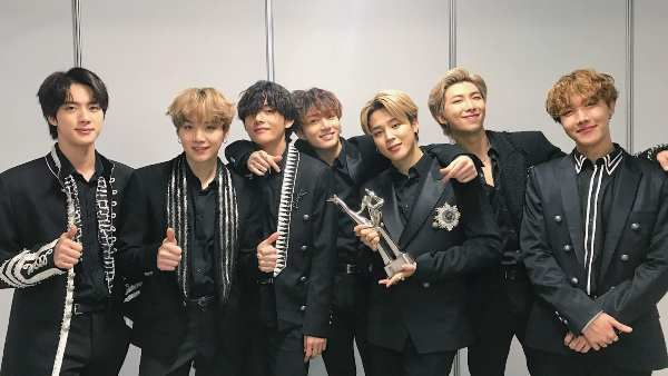 BTS Won Album of the Year As Well As Artist Of The Year