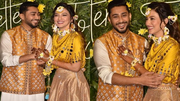 Gauahar Khan-Zaid Darbar's Mehendi Ceremony Pictures Out; Soon-To-Be Married Couple Dazzle In Yellow Outfits