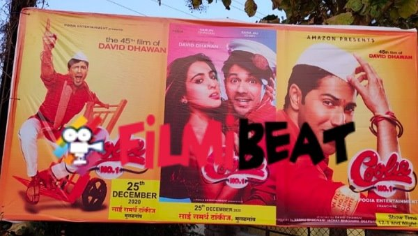 Varun And Sara's Coolie No. 1 Pirated By Theatre In Nashik?
