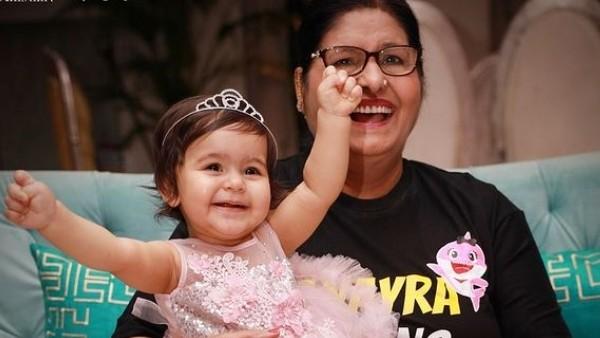Kapil Sharma's Mother With Anayra