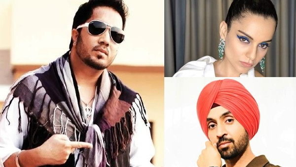 Kangana Ranaut-Diljit Dosanjh's Twitter Spat: Mika Singh Supports Punjabi Star; Tells Actress 'Shame On You'