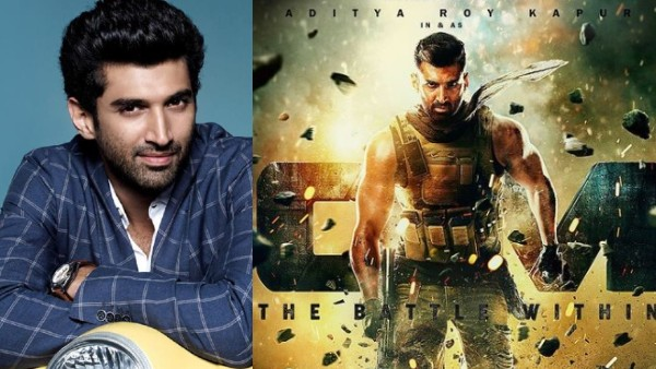 Om: The Battle Within First Look: Aditya Roy Kapur's Fierce Look In The Poster Promises Lots Of Action