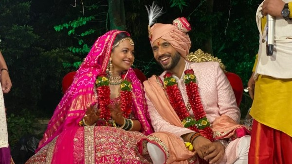 Punit Pathak Ties The Knot With Nidhi Moony Singh