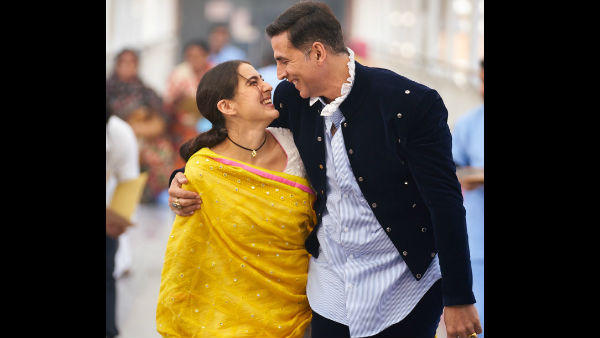 Atrangi Re: Sara Ali Khan Shares A Still With Akshay Kumar; Says She Considers Herself Privileged To Be Working With Him