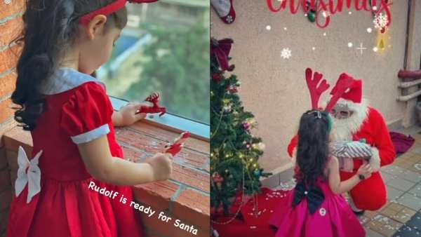 ALSO READ: Soha Ali Khan's Daughter Inaaya Is Ready To Welcome Christmas Dressed In Red And White As Rudolph