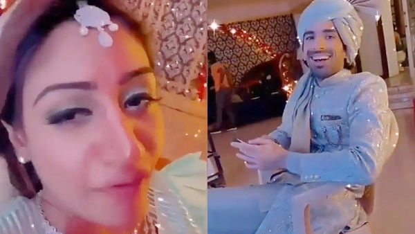 Video: Surbhi Chandna Mimics Naagin 5 Co-Star Mohit Sehgal