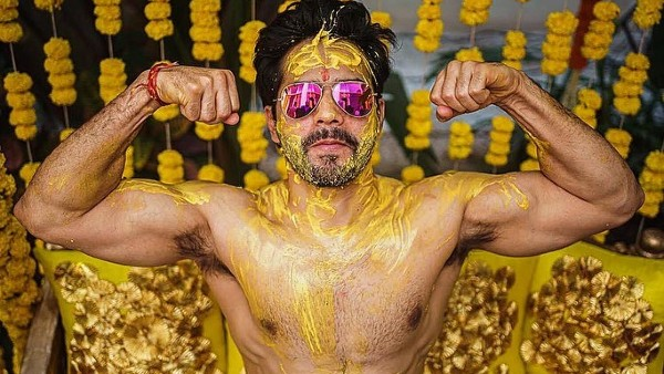 Varun Dhawan's Haldi Ceremony Pictures Have 'Groom Swag' Written All Over It